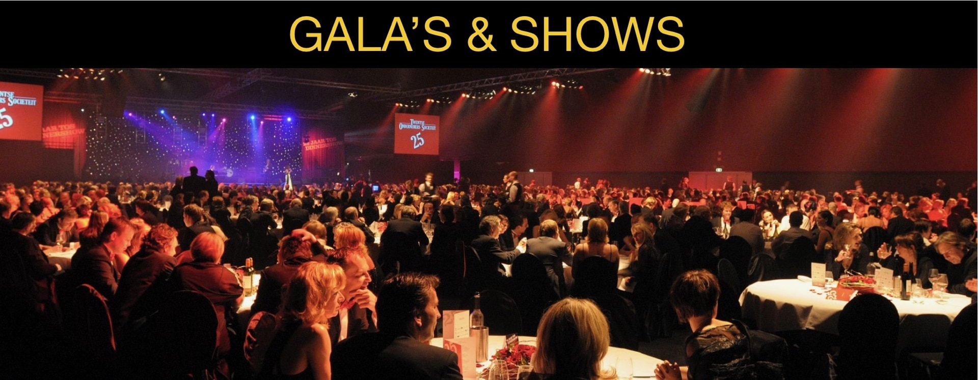 4YourEvents Slider Gala's & Shows Homepage