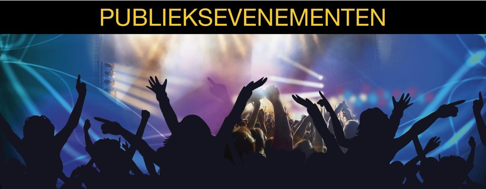 4YourEvents Slider Publieksevenementen Homepage